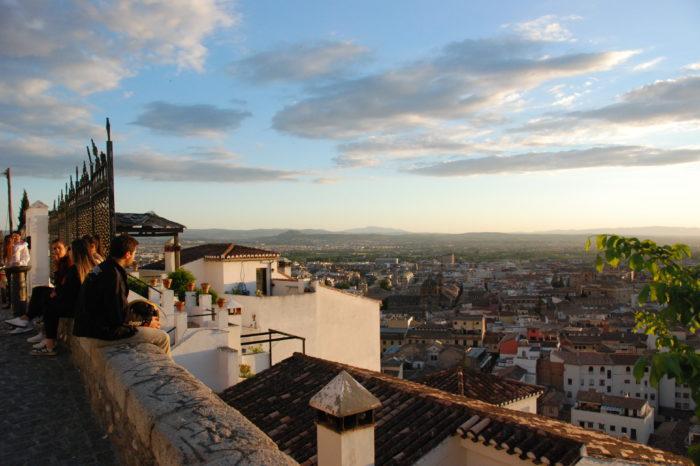 Granada al atardecer: Ruta miradores de la Alhambra