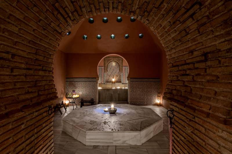 Importancia del hammam en Granada